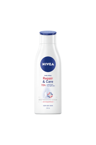 Kūno losjonas NIVEA REPAIR&CARE, 250 ml