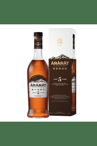 Brendijs Ararat 5* 40% 0.5l