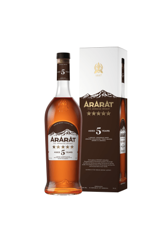Brendijs Ararat 5* 40% 0.7l