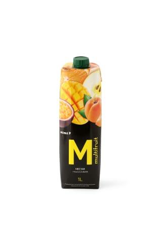 Įvairių vaisių sulčių nektaras RIMI, 1 l