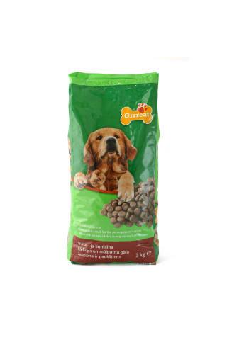 Visavertis sausas ėdalas šunims su jautiena GRRREAT, 3 kg