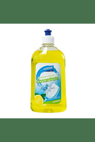 Mazgāšanas līdzeklis traukiem Marine lemon 500 ml