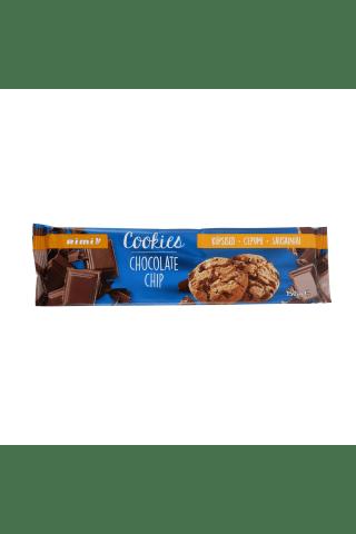 Trapūs sausainiai su tamsiuoju šokoladu ir pieniško šokolado gabaliukais RIMI, 150 g