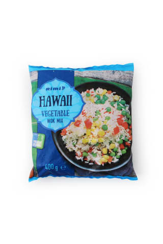Dārzeņu maisījums Rimi havajiešu gaumē saldēts 400g