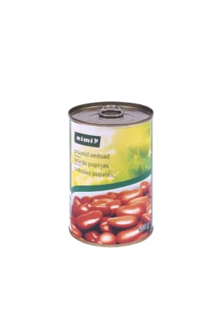 Rudosios pupelės RIMI, 400 g
