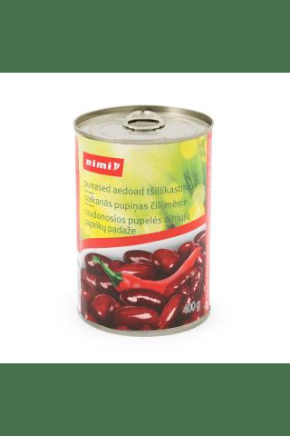 Raudonosios pupelės čili padaže RIMI, 400 g