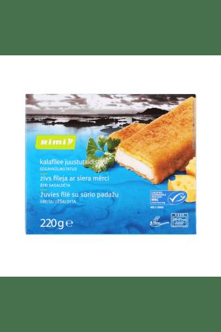 Zivs fileja Rimi ar siera mērci saldēta 220g
