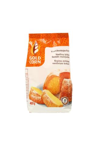 Kepimo mišinys vaniliniam pyragui GOLD CORN, 400 g