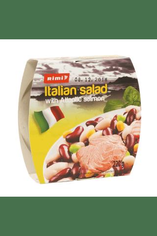 Itališkos salotos su atlantine lašiša RIMI, 220 g