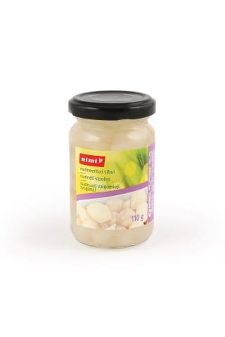 Konservuoti valgomieji svogūnai RIMI, 110 g