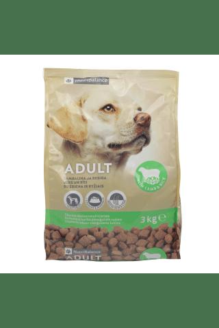 Sausas šunų ėdalas su aviena ir ryžiais NUTRIBALANCE, 3 kg