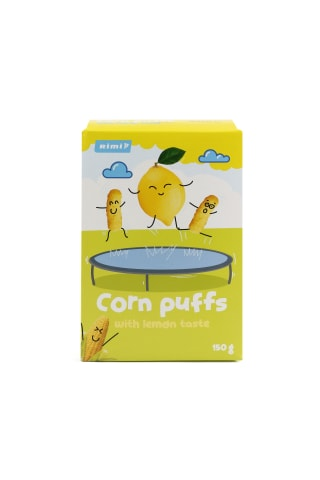 Citrinų skonio saldžios kukurūzų lazdelės RIMI, 150 g