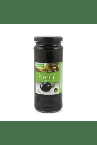 Melnās olīvas Rimi 345g/200g