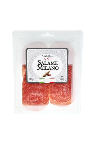 Vytintas saliamis SELECTION BY RIMI MILANO, 70 g