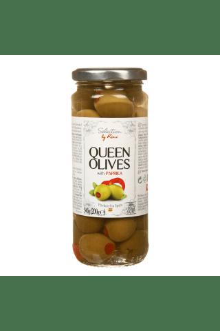 Olīvas,Selection by Rimi,zaļās 345g/200g
