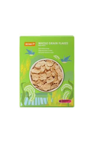 Brokastu pārslas Rimi Right Balanced kraukšķīgas rīsu pilngraudu kviešu 250g