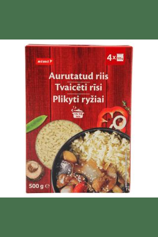 Ilgagrūdžiai plikyti ryžiai RIMI, 500 g