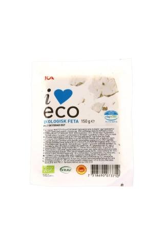 Ekologiškas feta sūris ICA I LOVE ECO, 150 g