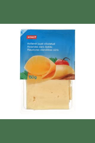 Pjaustytas olandiškas sūris RIMI, 45% rieb., 150 g