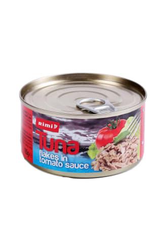 Smulkintas tunas pomidorų padaže RIMI, 185 g