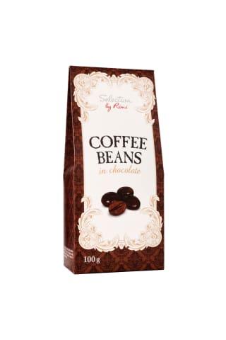 Dražė kavos pupelės su šokoladu SELECTION BY RIMI, 100 g