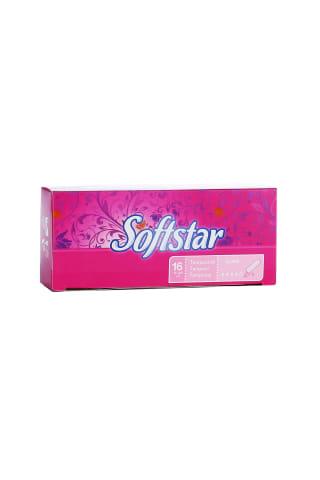 Higieniniai tamponai SOFTSTAR Super, 16 vnt