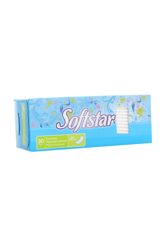 Biksīšu ieliktnīši Softstar soft single 30gab