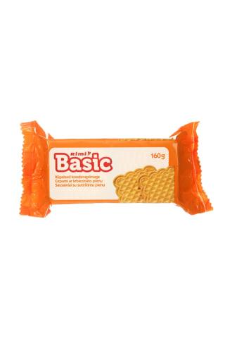 Sausainiai su sutiršintu pienu RIMI BASIC, 160 g