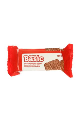 Šokoladiniai sausainiai RIMI BASIC, 160 g