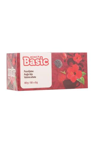 Vaisinė arbata RIMI BASIC, 40 g