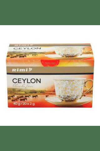 Juodoji ceilono arbata RIMI, 20vnt, 40g