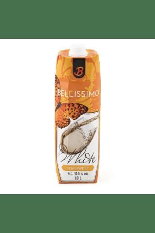 Baltvīns Bellissimo pussaldais 10,5% 1l