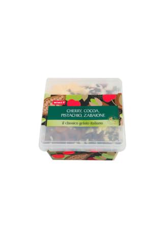 Ledai RIMI (pistacijų, Itališko likerio, vyšnių ir kakavos skonio), 2 l