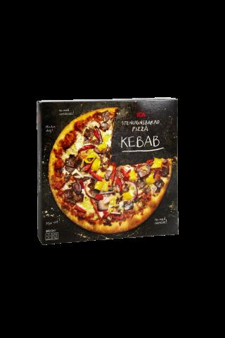 Ant akmens kepta pica ICA Kebab, 380 g