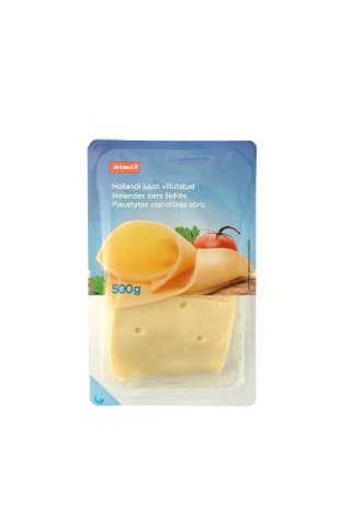 Oland. sūris RIMI BASIC pjaust.45% 500 g