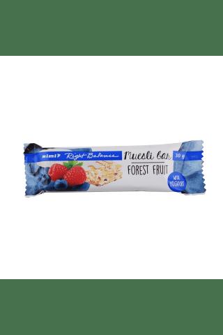 Batonėlis su miško uogomis ir jogurtiniu glaistu RIMI, 30 g