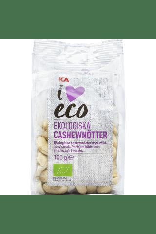 Ekologiški anakardžių riešutai I LOVE ECO, 100 g