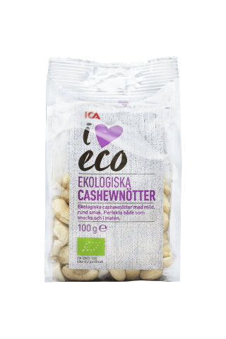 Organiski Indijas Rieksti I Love Eco 100 G