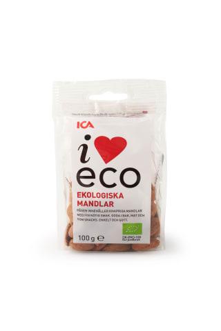 Organiskas Mandeles I Love Eco 100 G