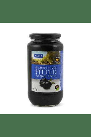 Melnās olīvas Rimi bez kauliņiem 935g/455g