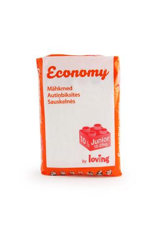 Bērnu autiņbiksītes Loving Touch Economy Junior 15-25 kg, 10 gabali