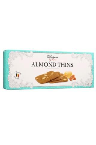 Mandeļu sviesta cepumi Selection by Rimi Almond Thins 100g
