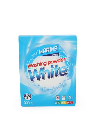 Skalbimo milteliai MARINE WHITE, 4 skalbimai, 300 g