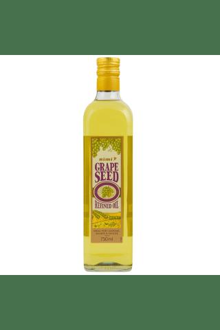 Vīnogu kauliņu eļļa, rafinēta, Rimi 750ml