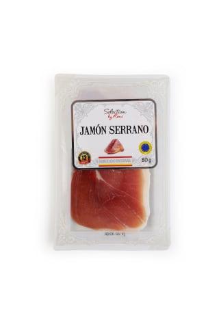 Vītināts šķiņķis Jamon Serrano Consorcio Selection by Rimi 80 g