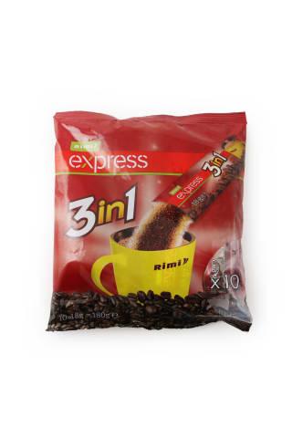 Tirpios kavos gėrimas RIMI 3in1, 180g