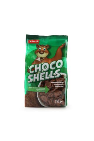 Sausi pusryčiai RIMI Choco Shells 250g
