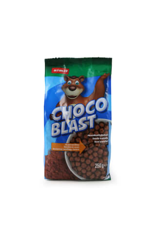 Sausi pusryčiai RIMI Choco Blast 250g