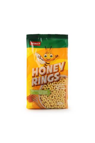 sausi pusryčiai RIMI Honey Rings 250g