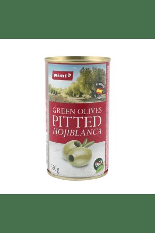 Žaliosios HOJIBLANCA alyvuogės RIMI be kauliukų, 350/150 g